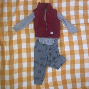 Carters fire man outfit.